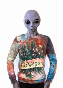 Sweatshirt - Go Vegan